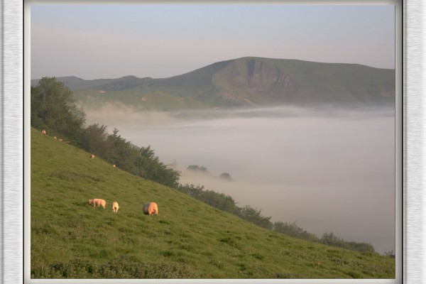 Morning Mist in the Hope Valley by Nigel Atkins